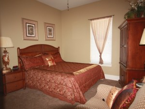 First Floor King Comfy Privacy Connects to full Bathroom , Bedroom #2