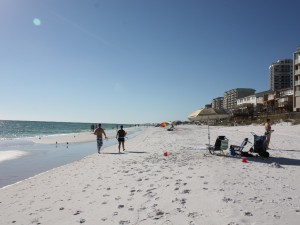 My Favorite Time of Year, the Emerald Coast in October.