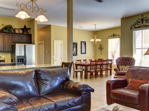 Sure to be a fun gathering place for games, cooking and what not!